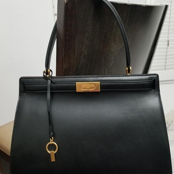 82390346bf35 Tory burch Lee radziwill large satchel. M 5c19d4cfdf030730af1679e8